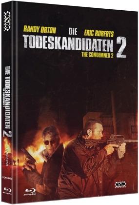 Die Todeskandidaten 2 (2015) (Cover B, Limited Edition, Mediabook, Blu-ray + DVD)