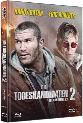 Die Todeskandidaten 2 (2015) (Cover C, Limited Edition, Mediabook, Blu-ray + DVD)
