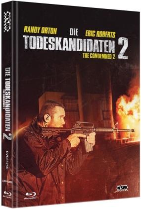 Die Todeskandidaten 2 (2015) (Cover D, Limited Edition, Mediabook, Blu-ray + DVD)