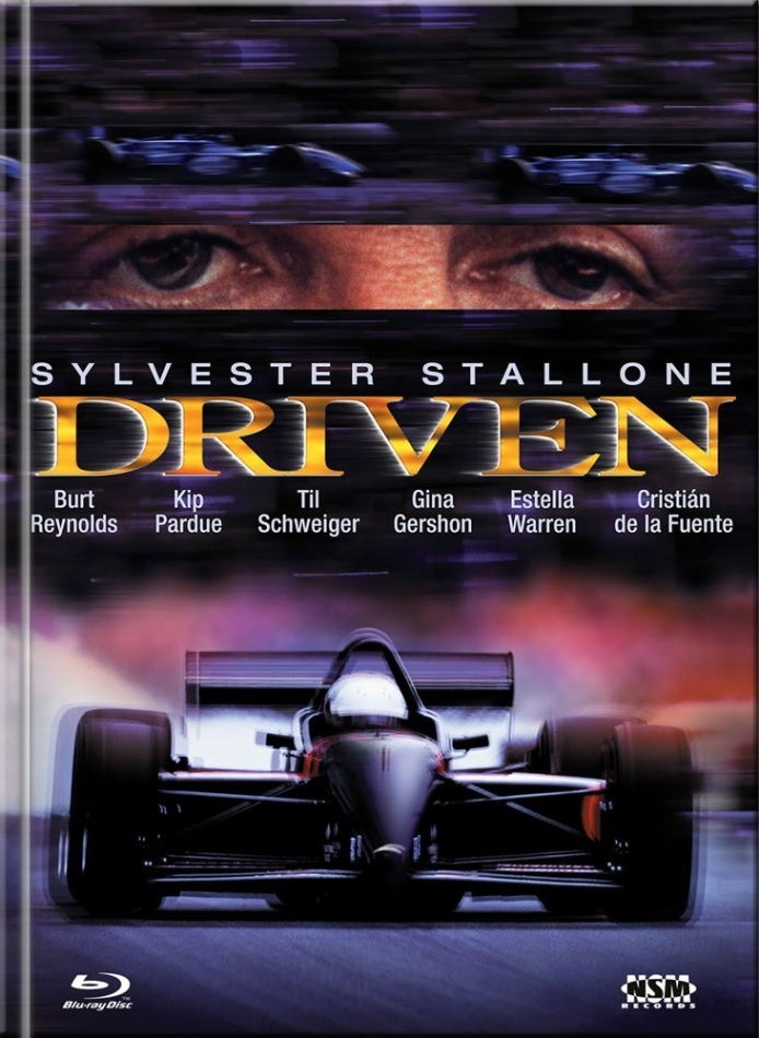Driven (2001) (Cover A, Limited Edition, Mediabook, Blu-ray + DVD)