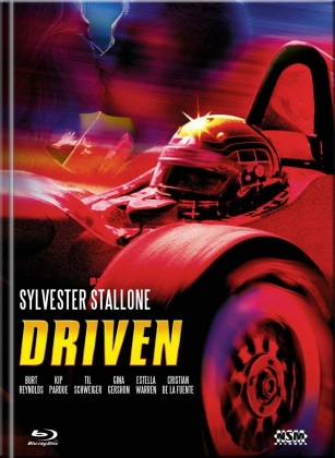 Driven (2001) (Cover B, Limited Edition, Mediabook, Blu-ray + DVD)