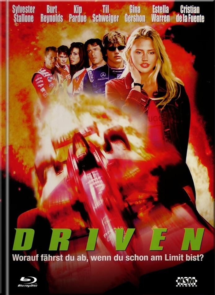 Driven (2001) (Cover C, Limited Edition, Mediabook, Blu-ray + DVD)