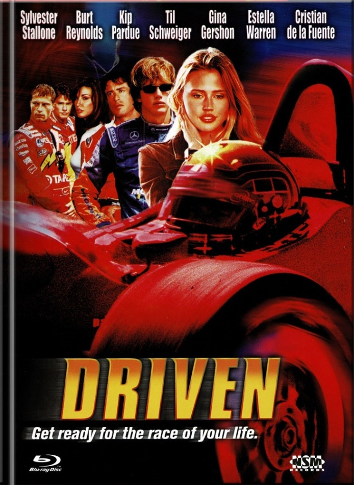 Driven (2001) (Cover D, Limited Edition, Mediabook, Blu-ray + DVD)