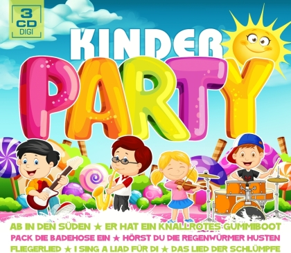 Kinderparty (3 CDs)