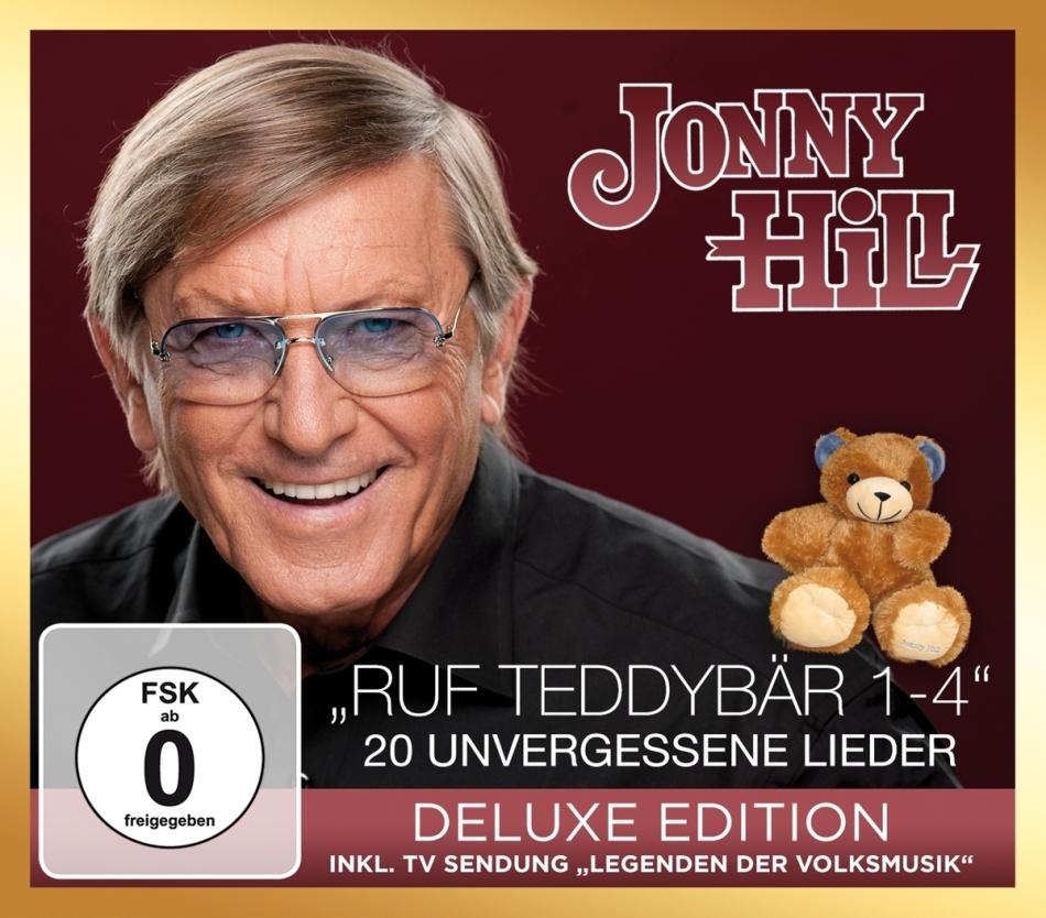 Jonny Hill - Ruf Teddybär 1-4 - 20 unvergessene Lieder (Deluxe Edition, CD + DVD)