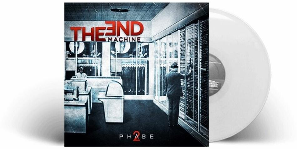 The End Machine (George Lynch) - Phase2 (Gatefold, Limited Edition, White Vinyl, LP)