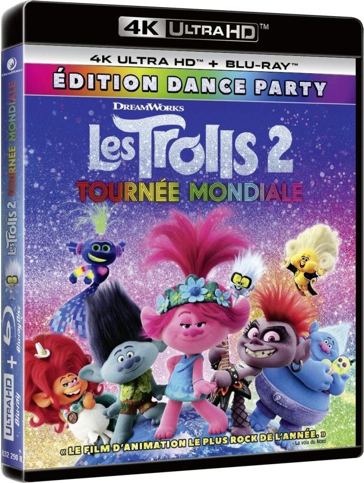 Les Trolls 2 - Tournée Mondiale (2020) (4K Ultra HD + Blu-ray)