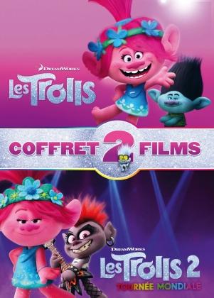 Les Trolls (2016) / Les Trolls 2 - Tournée mondiale (2020) - Coffret 2 Films (2 DVD)
