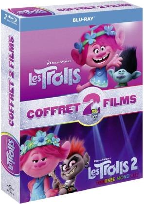 Les Trolls (2016) / Les Trolls 2 - Tournée mondiale (2020) (2 Blu-ray)