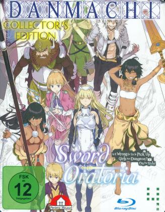 DanMachi - Sword Oratoria - Vol. 1-4 (Bundle, 4 Blu-rays)