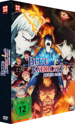 Blue Exorcist: Kyoto Saga - Staffel 2 (Gesamtausgabe, 2 DVDs)