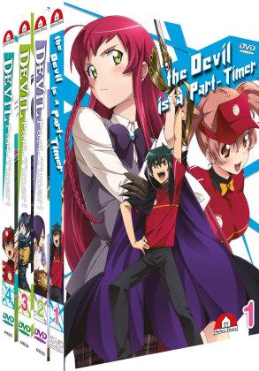 The Devil is a Part-Timer! - Vol. 1-4 (Bundle, 4 DVDs)