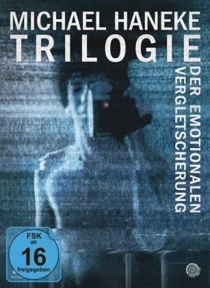 Michael Haneke - Trilogie der emotionalen Vergletscherung - Der siebente Kontinent / Benny's Video / 71 Fragmente einer Chronologie des Zufalls (Limited Edition, Mediabook, 3 Blu-rays)