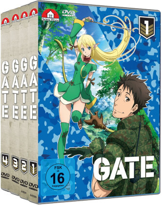 Gate - Vol. 1-4 (Bundle, 4 DVDs)