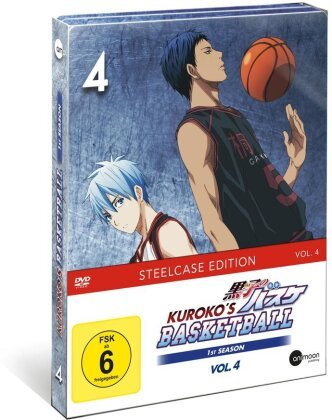Kuroko's Basketball - Staffel 1 - Vol. 4 (Limited Steelcase Edition)