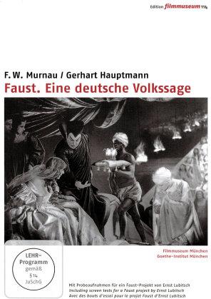 Faust. Eine deutsche Volkssage (1926)