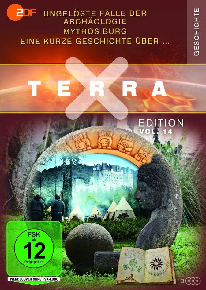 Terra X Edition - Vol. 14 - Ungelöste Fälle der Archäologie / Eine kurze Geschichte über … / Mythos Burg (3 DVDs)