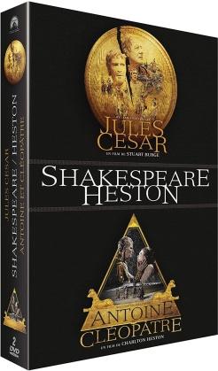 Jules César / Antoine et Cléopâtre - Shakespeare / Heston (2 DVDs)