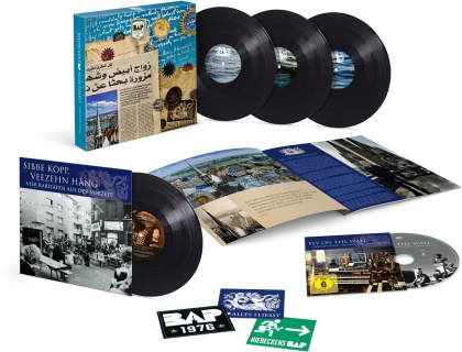 """Niedeckens BAP - Alles Fliesst (Geburtstagsedition, Limited Edition, 3 LPs + 10"""" Maxi + DVD)"""