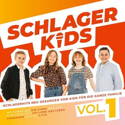 Schlagerkids - Vol. 1 (Von Kids Für Die Ganze Familie)