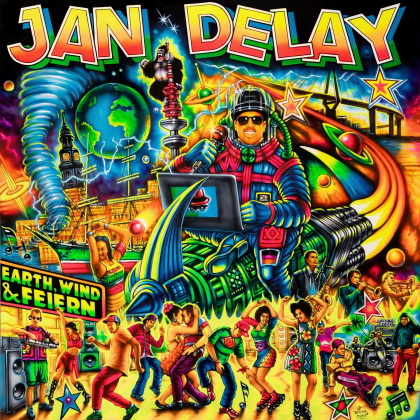 Jan Delay (Beginner) - Earth, Wind & Feiern (Digipack)