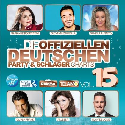 Die offiziellen dt.Party & Schlager Charts Vol.15 (2 CDs)