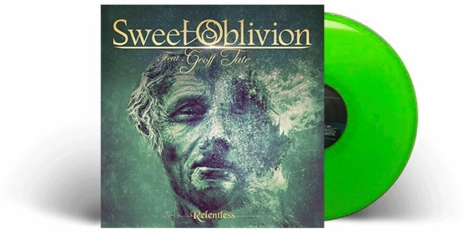 Sweet Oblivion (Geoff Tate) - Relentless (Limited Edition, Green Vinyl, LP)