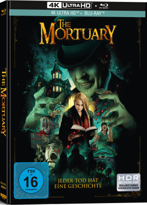 The Mortuary - Jeder Tod hat eine Geschichte (2019) (Limited Collector's Edition, Mediabook, 4K Ultra HD + Blu-ray)