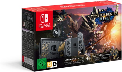 Nintendo Switch Konsole Monster Hunter Rise Edition Bundle