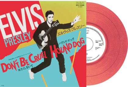 "Elvis Presley - Don't Be Cruel / Hound Dog (2021 Reissue, Japan Edition, Red Vinyl, 7"" Single)"