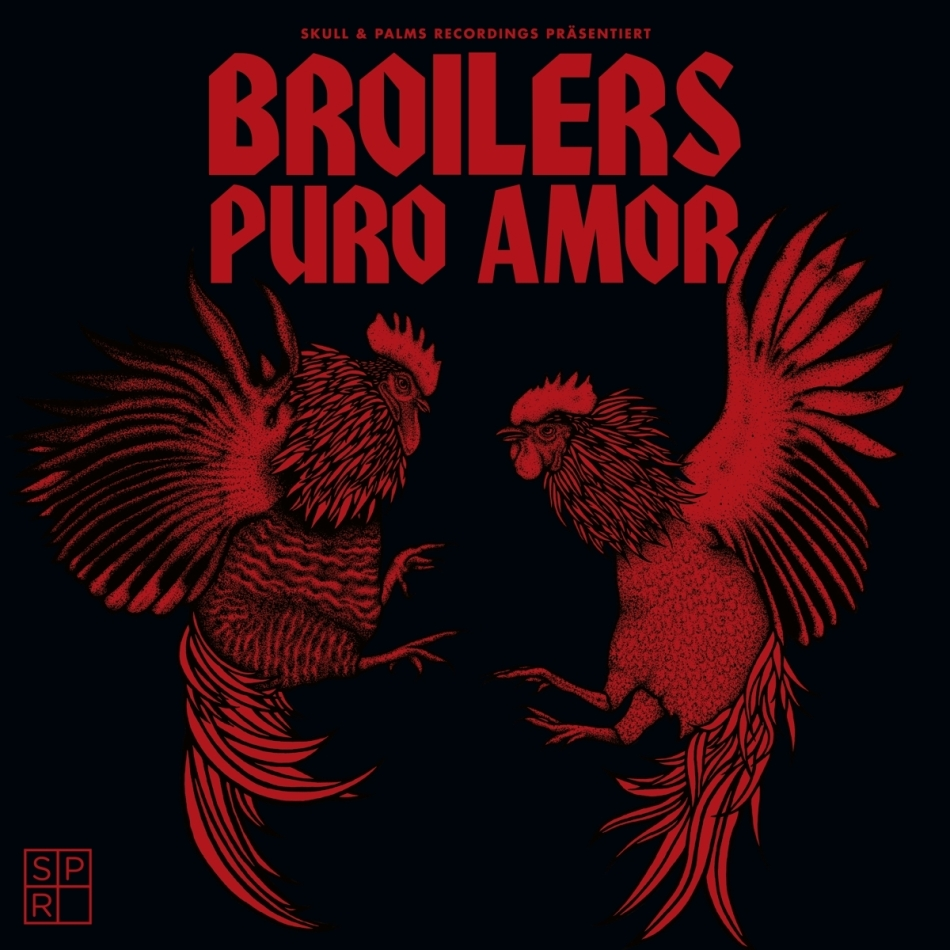 Broilers - Puro Amor (Gatefold, Transparent Red Vinyl, LP)
