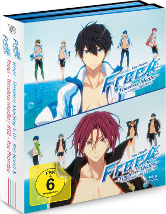 Free! Timeless Medley - The Bond / The Promise (2 Blu-rays)