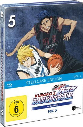 Kuroko's Basketball - Staffel 1 - Vol. 5 (Limited Steelcase Edition)