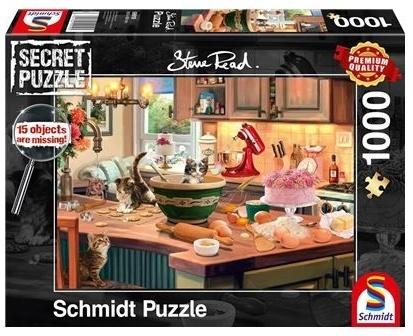 Am Küchentisch - 1000 Teile Secret Puzzle