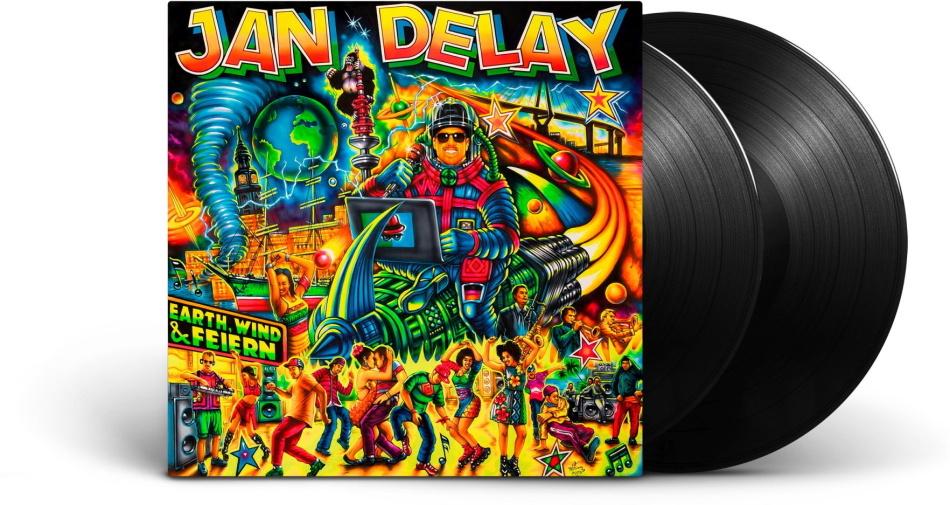 Jan Delay (Beginner) - Earth, Wind & Feiern (Black Vinyl, 2 LPs)