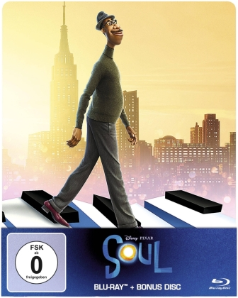 Soul (2020) (Limited Edition, Steelbook, 2 Blu-rays)