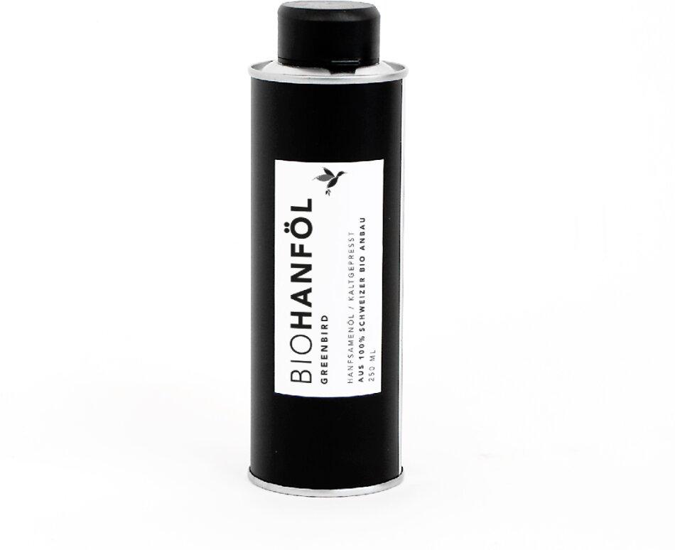 Bio Hanfsamenöl - kaltgepresst, 250ml
