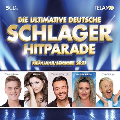 Die ultimative dt.Schlager Hitparade: Frühjahr/Sommer (5 CDs)