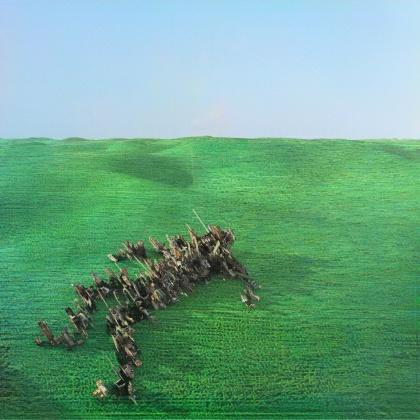 Squid - Bright Green Field (Red Cassette)
