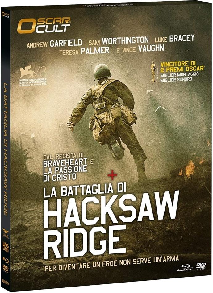 La battaglia di Hacksaw Ridge (2016) (Oscar Cult, Blu-ray + DVD)