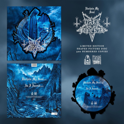 """Dark Funeral - Unchain My Soul (Shaped Disc, Picture Disc, 12"""" Maxi)"""