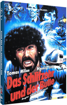 Das Schlitzohr und der Bulle (1976) (Cover A, Violenza All'Italiana Collection, Limited Edition, Mediabook, Uncut, Blu-ray + DVD)