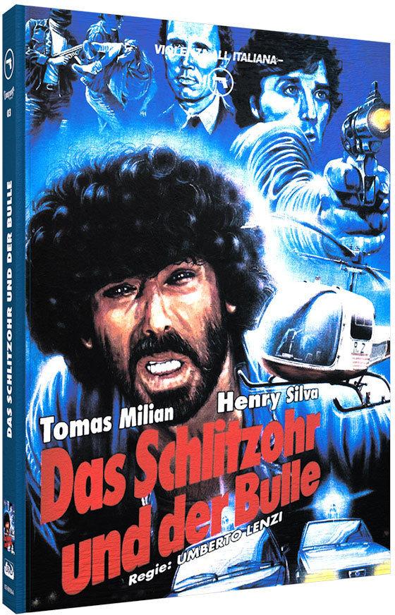 Das Schlitzohr und der Bulle (1976) (Cover A, Violenza All'Italiana Collection, Limited Edition, Mediabook, Uncut, Blu-ray + DVD)