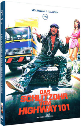 Das Schlitzohr vom Highway 101 (1982) (Cover A, Violenza All'Italiana Collection, Extended Edition, Kinoversion, Limited Edition, Mediabook, Blu-ray + DVD)
