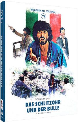 Das Schlitzohr und der Bulle (1976) (Cover C, Limited Edition, Mediabook, Blu-ray + DVD)