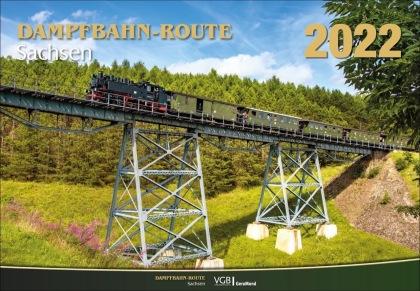 Dampfbahn-Route Sachsen 2022