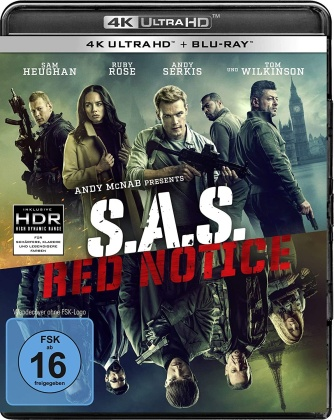 S.A.S. Red Notice (2021) (4K Ultra HD + Blu-ray)
