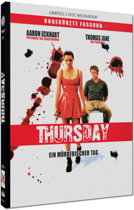 Thursday - Ein mörderischer Tag (1998) (Cover A, Limited Edition, Mediabook, Blu-ray + DVD)