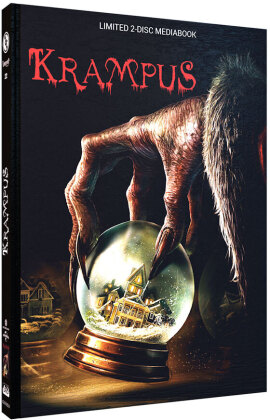 Krampus (2015) (Cover A, Limited Cinestrange Extreme Edition, Mediabook, Blu-ray + DVD)