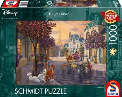 Thomas Kinkade: Disney The Aristocats - 1000 Teile Puzzle